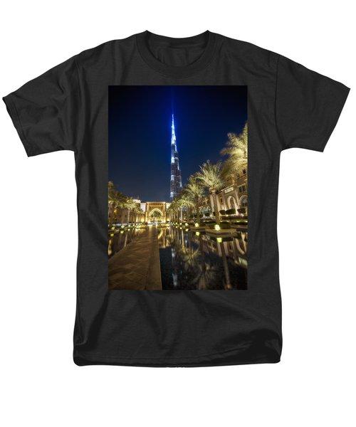 Men's T-Shirt  (Regular Fit) featuring the photograph Burj Khalifa Swoard by John Swartz