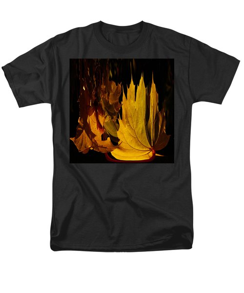 Burning Fall Men's T-Shirt  (Regular Fit) by Jouko Lehto