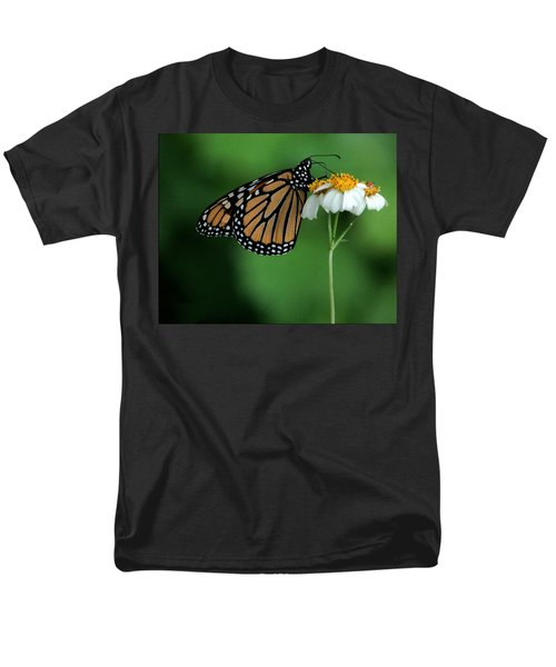 Men's T-Shirt  (Regular Fit) featuring the photograph Butterfly 3 by Leticia Latocki