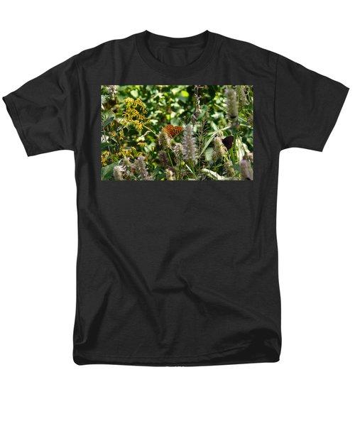 Butterfly Buffet Men's T-Shirt  (Regular Fit) by Meghan at FireBonnet Art