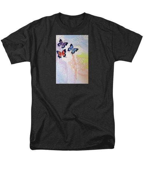 Butterfly Dream Men's T-Shirt  (Regular Fit) by Elvira Ingram