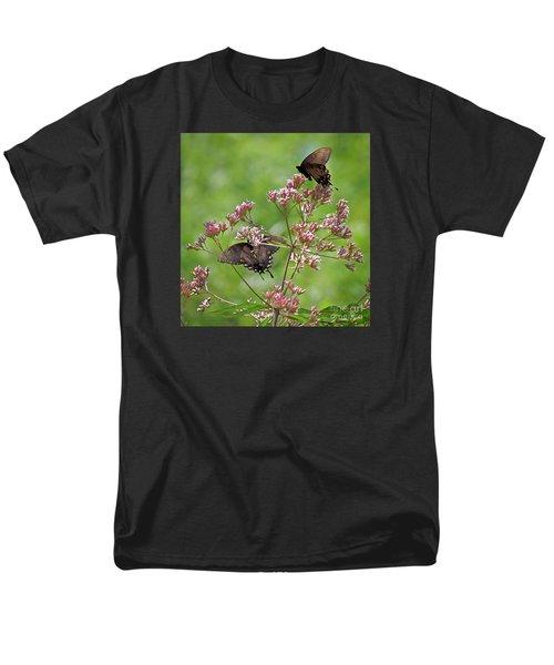 Butterfly Duet  Men's T-Shirt  (Regular Fit)