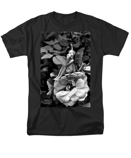 Butterfly Girl Men's T-Shirt  (Regular Fit) by Tine Nordbred