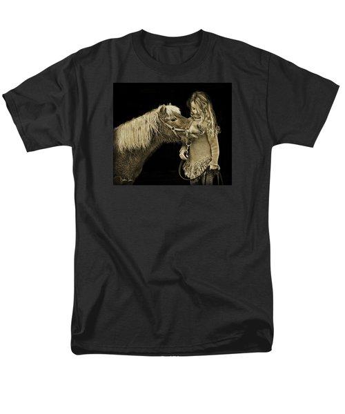 Men's T-Shirt  (Regular Fit) featuring the photograph Butterscotch by Joan Davis
