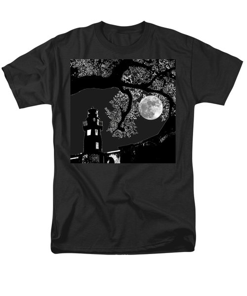 Men's T-Shirt  (Regular Fit) featuring the photograph By The Light by Robert McCubbin