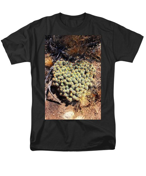 Men's T-Shirt  (Regular Fit) featuring the photograph Cacti Need Love Too by Natalie Ortiz