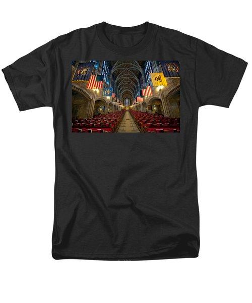 Cadet Chapel Men's T-Shirt  (Regular Fit) by Dan McManus