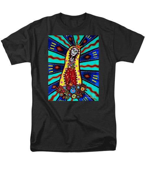 Calavera Virgen Men's T-Shirt  (Regular Fit)