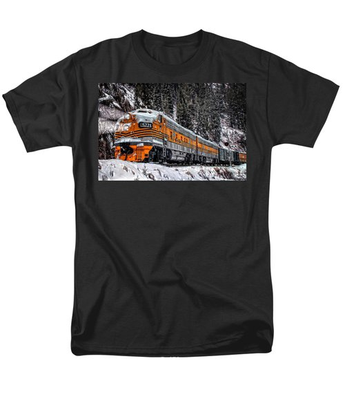 California Zephyr Men's T-Shirt  (Regular Fit) by Ken Smith