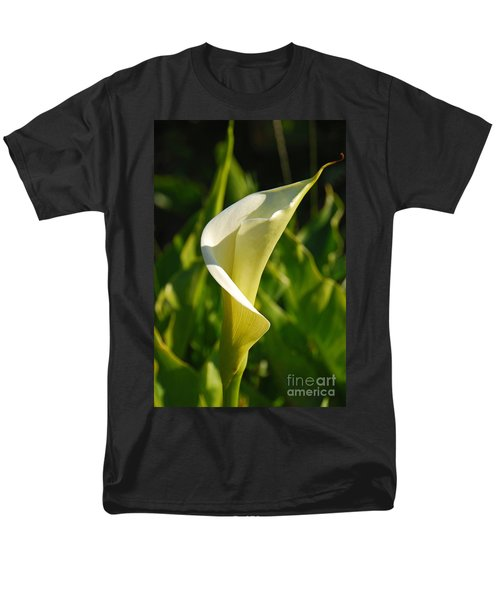 Men's T-Shirt  (Regular Fit) featuring the photograph Calla Lily by Mary Carol Story