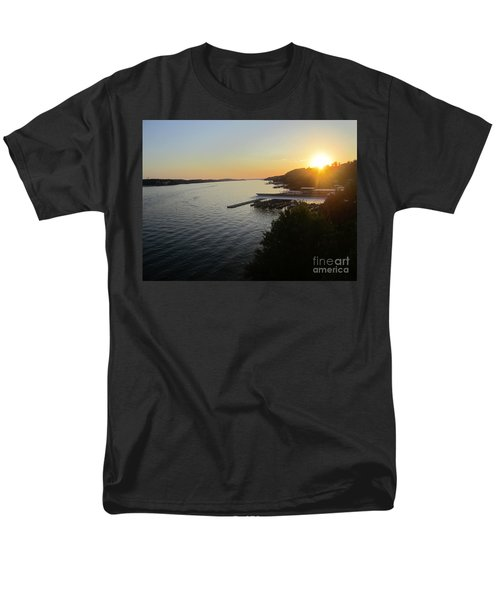 Calling It A Day Men's T-Shirt  (Regular Fit) by Fiona Kennard