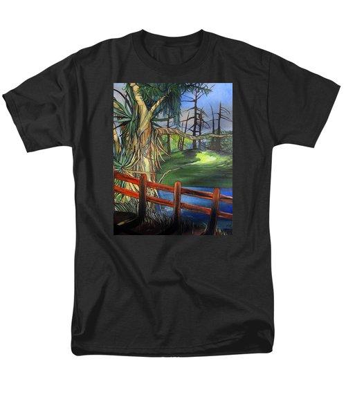 Camino Real Park Men's T-Shirt  (Regular Fit) by Mary Ellen Frazee