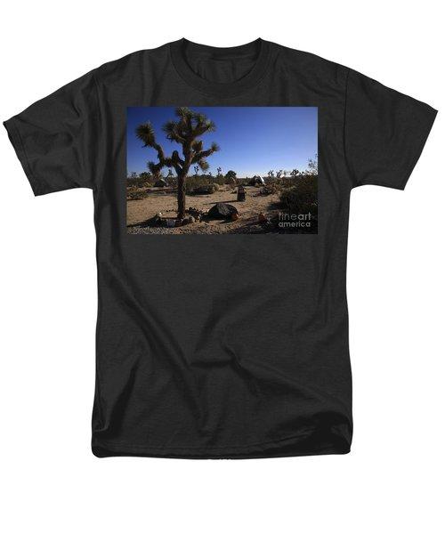 Camping In The Desert Men's T-Shirt  (Regular Fit) by Nina Prommer