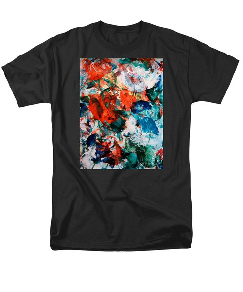 Men's T-Shirt  (Regular Fit) featuring the painting Can I Have This Dance by Lori  Lovetere