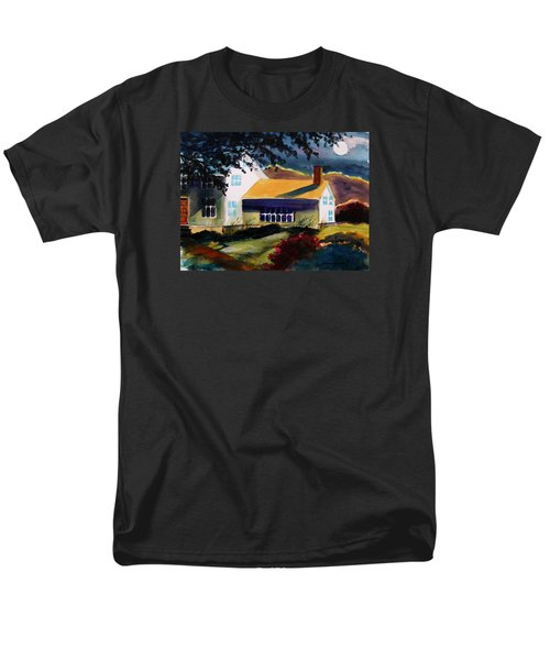 Men's T-Shirt  (Regular Fit) featuring the painting Cape Cod Moon by John Williams