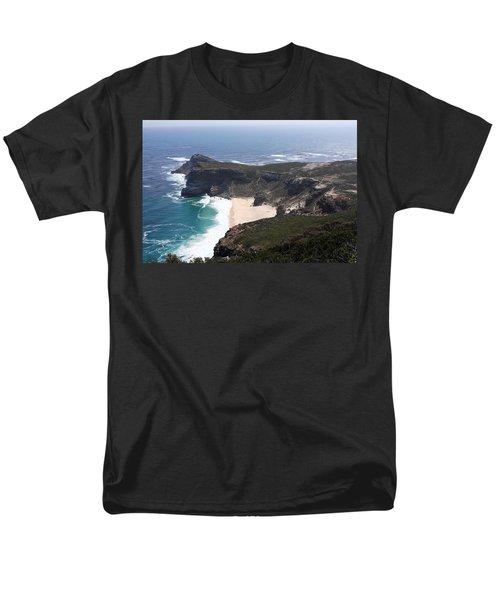 Cape Of Good Hope Coastline - South Africa Men's T-Shirt  (Regular Fit)
