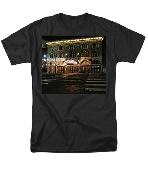 Men's T-Shirt  (Regular Fit) featuring the photograph Capitol Theatre by Ely Arsha