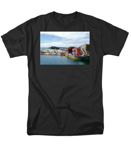 Capitola Begonia Festival Weekend Men's T-Shirt  (Regular Fit) by Amelia Racca