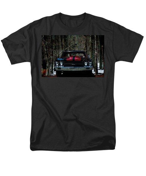Car Art Chevy Chevelle Ss Hdr Men's T-Shirt  (Regular Fit) by Lesa Fine