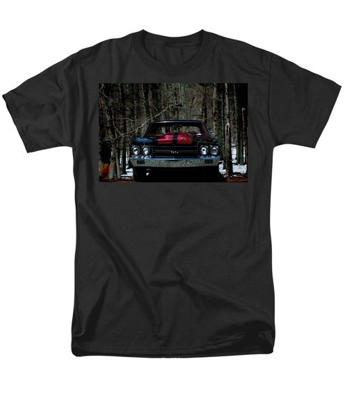 Car Art Chevy Chevelle Ss Hdr Men's T-Shirt  (Regular Fit)