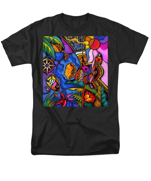 Caribbean Men's T-Shirt  (Regular Fit) by Leon Zernitsky