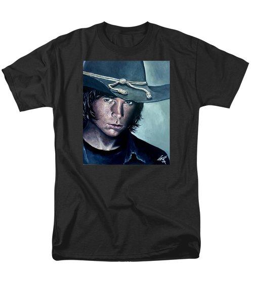Carl Grimes Men's T-Shirt  (Regular Fit) by Tom Carlton