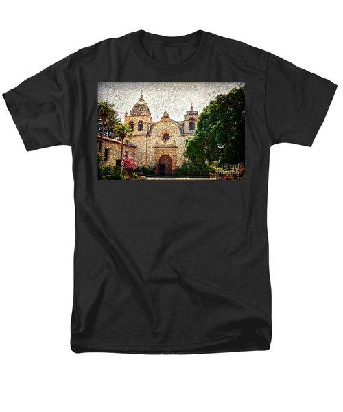 Carmel Mission Men's T-Shirt  (Regular Fit) by RicardMN Photography