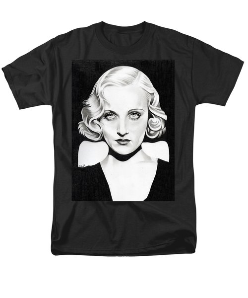 Carole Lombard Men's T-Shirt  (Regular Fit) by Fred Larucci