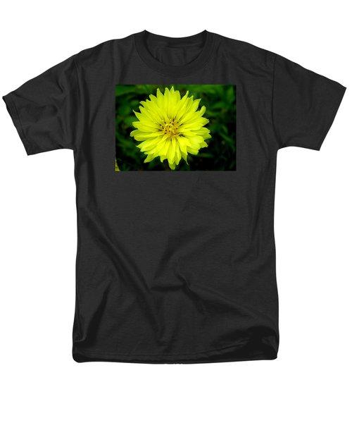 Men's T-Shirt  (Regular Fit) featuring the photograph Wild Carolina Desert Chicory by William Tanneberger