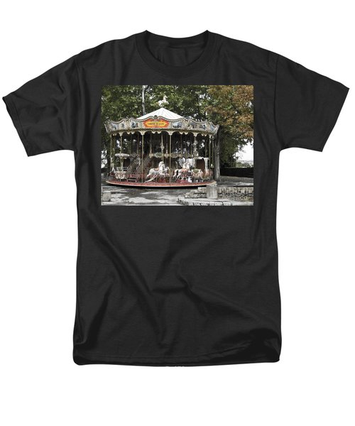 Carousel Men's T-Shirt  (Regular Fit) by Victoria Harrington