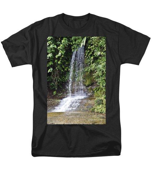 Cascada Pequena Men's T-Shirt  (Regular Fit) by Kathy McClure