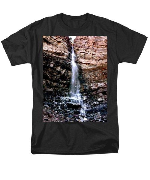 Cascade Falls Men's T-Shirt  (Regular Fit) by Jeff Gater