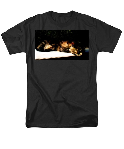 Cat Nap 1 Men's T-Shirt  (Regular Fit) by William Horden