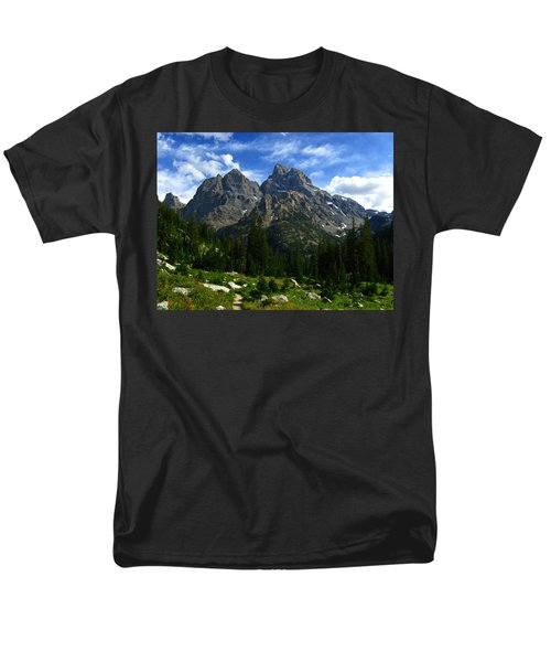 Cathedral Group From The Northwest Men's T-Shirt  (Regular Fit) by Raymond Salani III