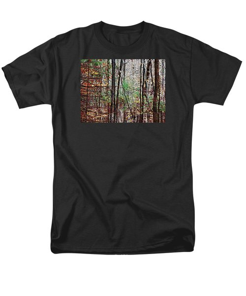 Cathedral In The Woods Men's T-Shirt  (Regular Fit) by Joy Nichols