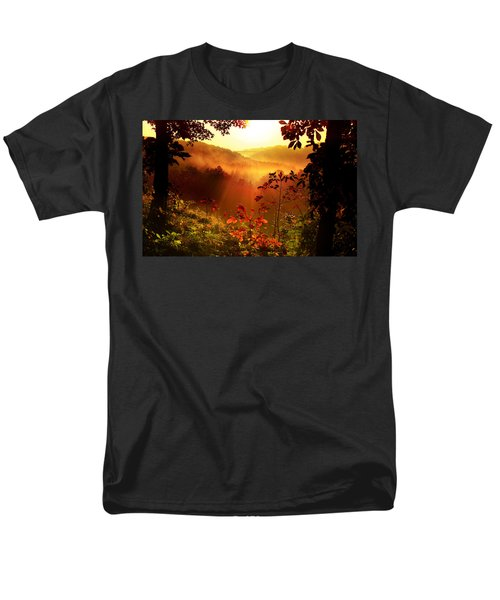 Cathedral Of Light Men's T-Shirt  (Regular Fit) by Rob Blair