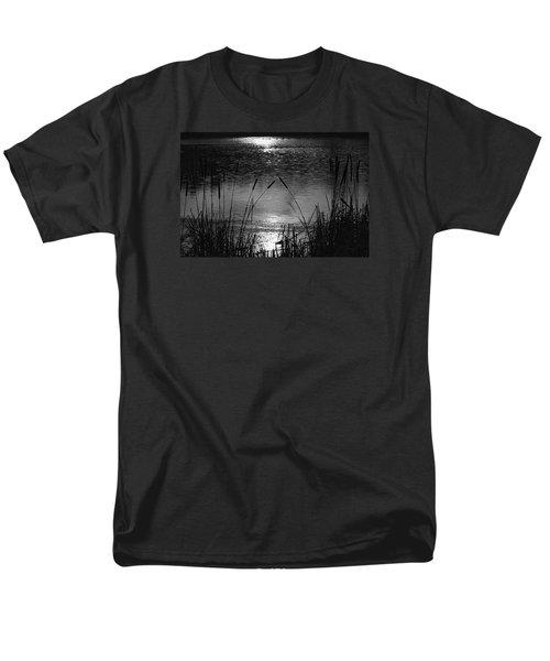 Cattails 3 Men's T-Shirt  (Regular Fit) by Susan  McMenamin