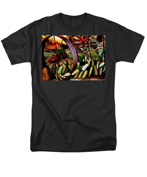 Men's T-Shirt  (Regular Fit) featuring the photograph Caught In A Cactus Patch-sold by Antonia Citrino