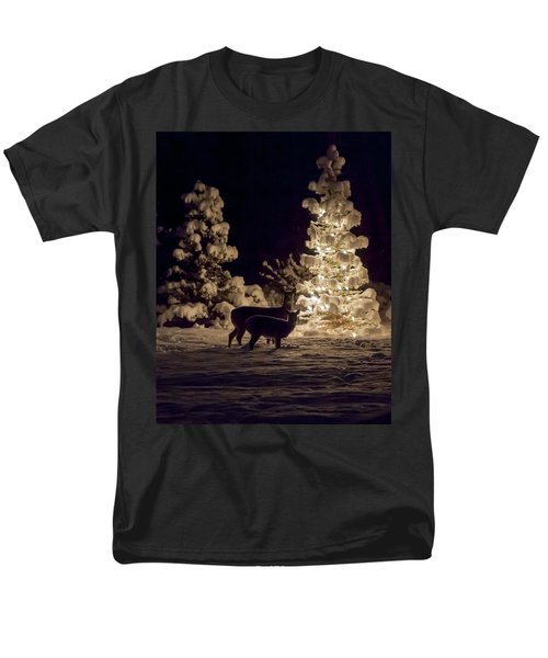 Men's T-Shirt  (Regular Fit) featuring the photograph Cautious by Aaron Aldrich