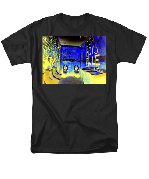 Cbgb's Notorious Mens Room Men's T-Shirt  (Regular Fit) by Ed Weidman