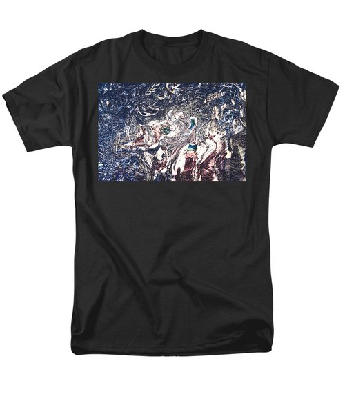 Men's T-Shirt  (Regular Fit) featuring the digital art Celebration Of Entanglement by Richard Thomas