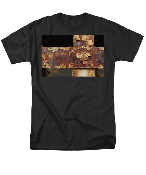 Men's T-Shirt  (Regular Fit) featuring the photograph Cell Strapping by Fran Riley