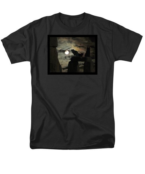 Men's T-Shirt  (Regular Fit) featuring the photograph Celtic Nights by I'ina Van Lawick