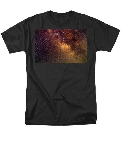 Center Of The Milky Way Men's T-Shirt  (Regular Fit) by Alan Vance Ley