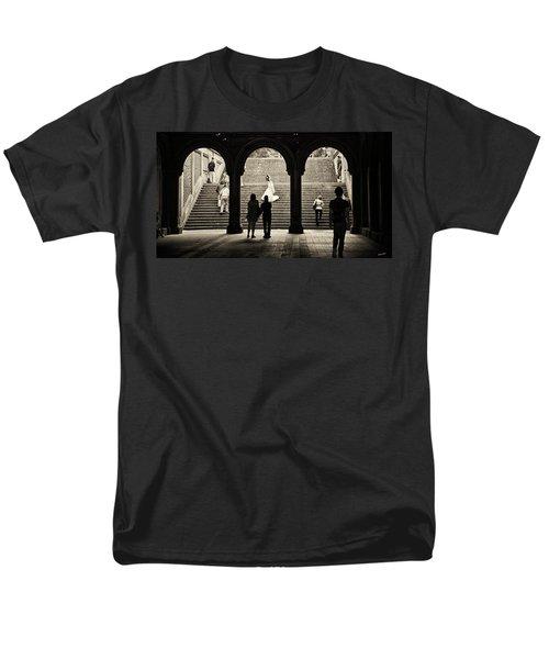 Central Park Bride Men's T-Shirt  (Regular Fit) by Madeline Ellis