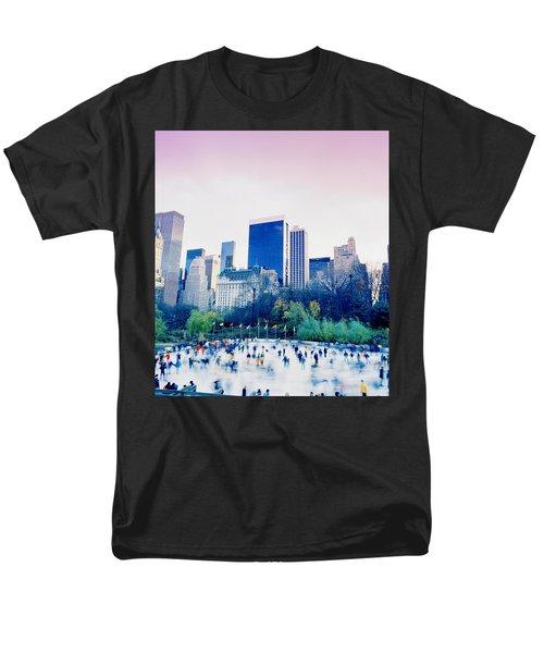 New York In Motion Men's T-Shirt  (Regular Fit) by Shaun Higson