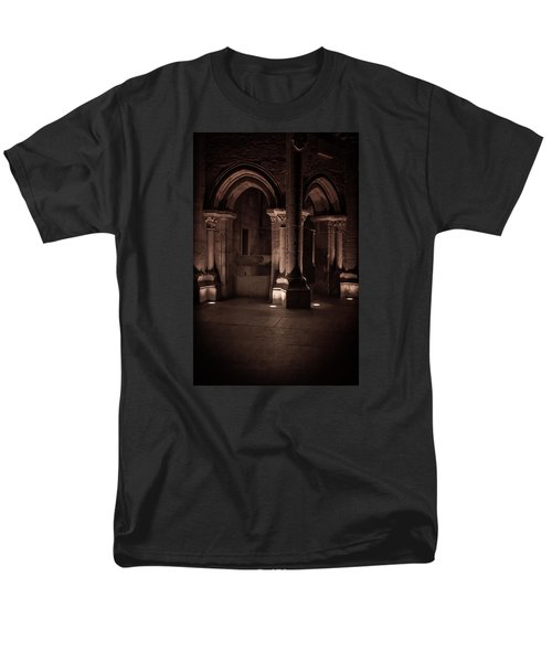 Men's T-Shirt  (Regular Fit) featuring the photograph Chafariz Dos Canos by Edgar Laureano