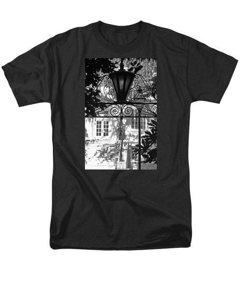 Charleston Gateway II In Black And White Men's T-Shirt  (Regular Fit) by Suzanne Gaff