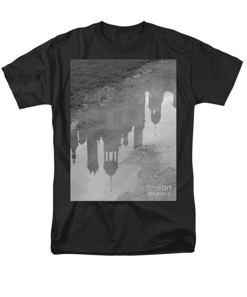 Chateau Chambord Reflection Men's T-Shirt  (Regular Fit) by HEVi FineArt