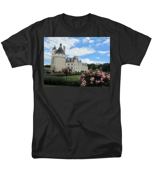 Men's T-Shirt  (Regular Fit) featuring the photograph Chateau Chenonceau by Pema Hou